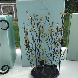 PartyLite Twig & Leaf Candle Holder